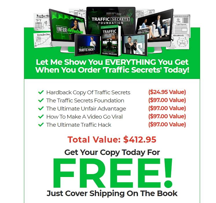 Traffic Secrets book عرض خاص