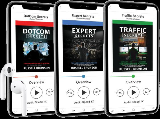 Traffic Secrets audio book ترافك سيكرت كتاب اسرار حركة المرور